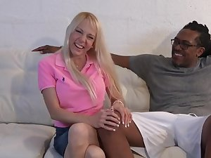 4K Amateur Florida Housewife takes 12 inch Negroid weasel words