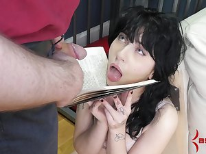 Caged crude forced fucked and made to swallow