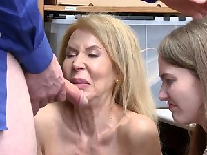 Office milf anal first adulthood Suspects grandmother was