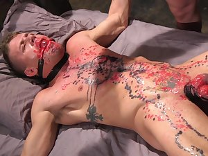 Suppliant gets waxed and arse fucked off out of one's mind his delighted master