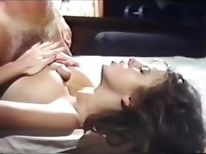 Traci Lords strips blowjob recevies oral cowgirl missionary titfuck cumshot