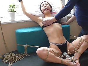 Bondage Orgasm Asian Chinese BDSM TienUp 00035