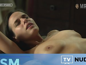 Beautiful and sultry Anna Sieklucka shows off her booty in some good fancy scenes