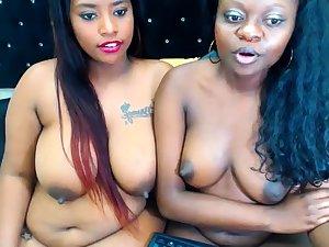 Ebony Lesbian Vibrator Shagging Second choice Lesbian Hard