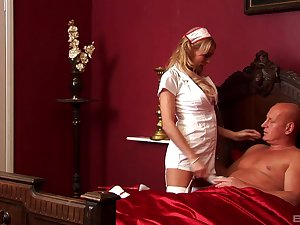 Amazing nude porn with hammer away nurse who's a slut