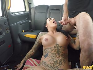 Beth Inked Peer royalty shows serendipitous cabbie what a slut she is