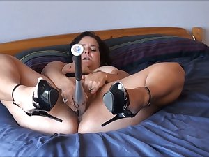 My orgasm craving impetuous wife aches to enjoy my baseball bat totally and fully