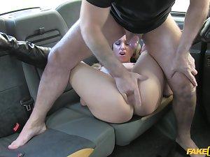 Jasmine Lau gets sweaty when shagging her horny hansom cab parlour-maid