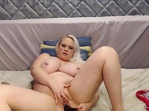 Big and Beautiful Blond Girl Thither Huge Tits Squirting