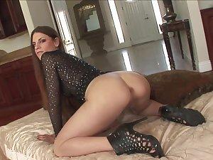 Black coxcomb with a long dick fucks slutty mature Rochelle Ryder